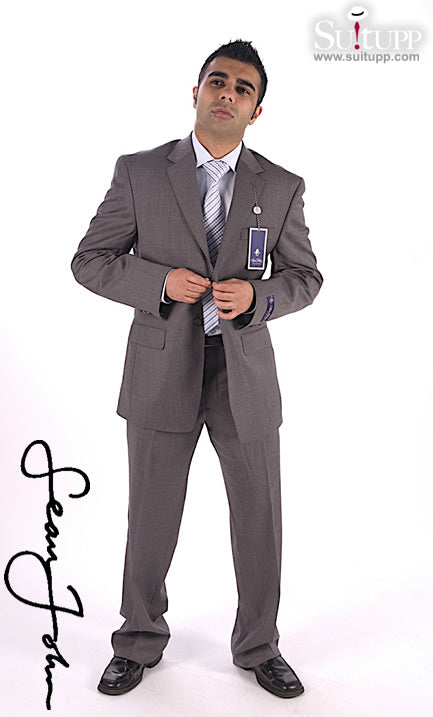 Sean John Dark Grey-2 Piece Suit