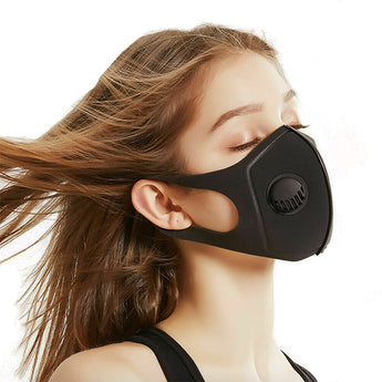 Gas Mask Cloth Face Mask, Adult Unisex