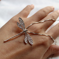 Good Luck Dragonfly Jewellery Pendant Necklace