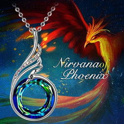 Nirvana of Phoenix Necklaces Jewellery with Crystals for Women