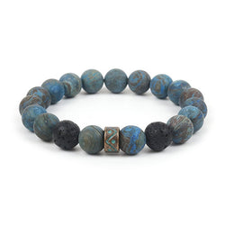 Eight Planets Bead Bracelet Men Natural Stone Universe Yoga Chakra