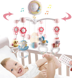 Baby Mobile Musical Crib