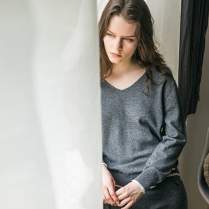 Female's wool knit top