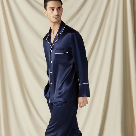 Silk Long PJ