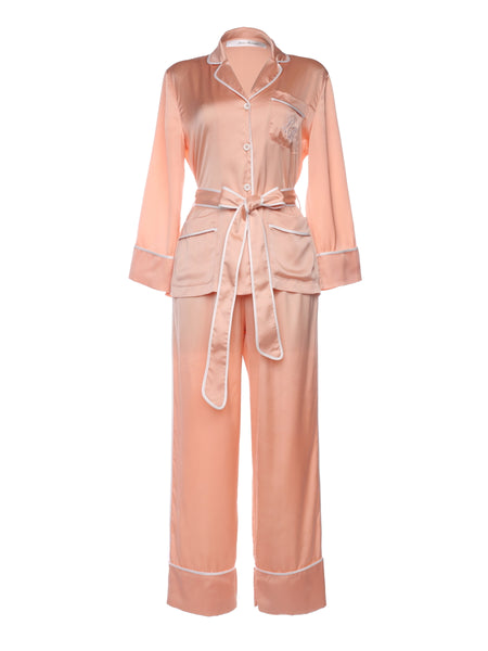 Satin Pyjama Set + Belt