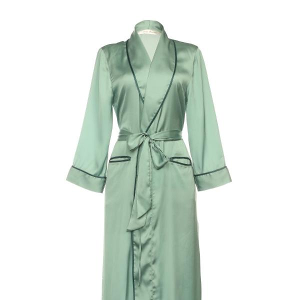 Satin Long Robe
