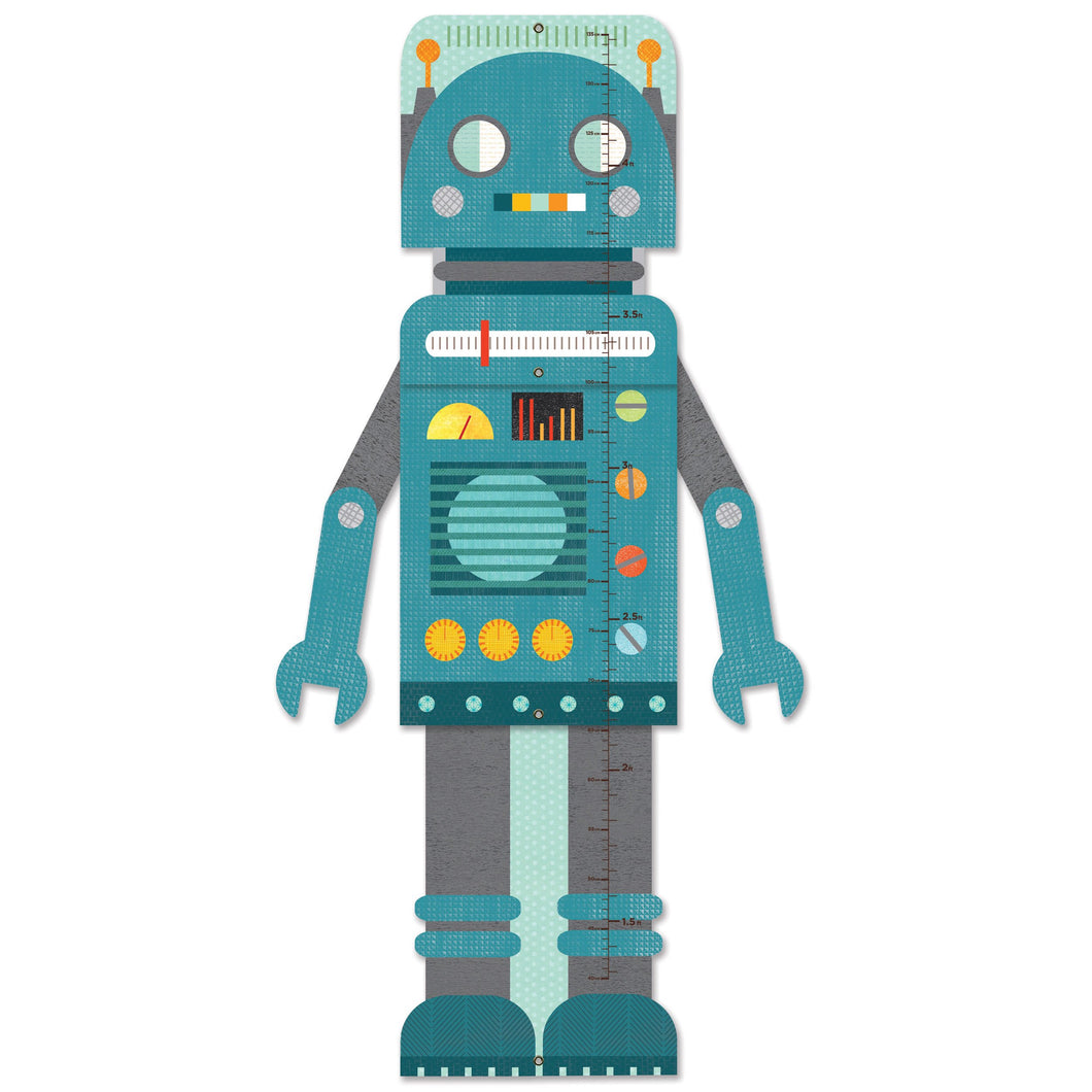 Blue Robot- Growth Chart(CLOSEOUT)