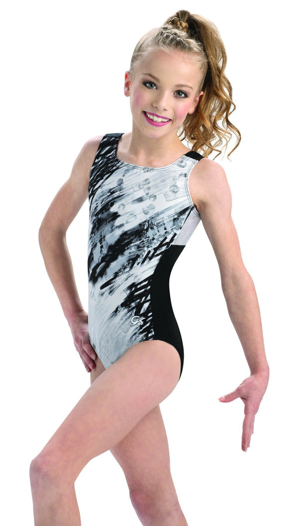 GK Abstract View Tank Leotard