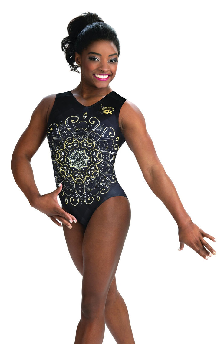 Simone Biles Collection Tranquility Leotard