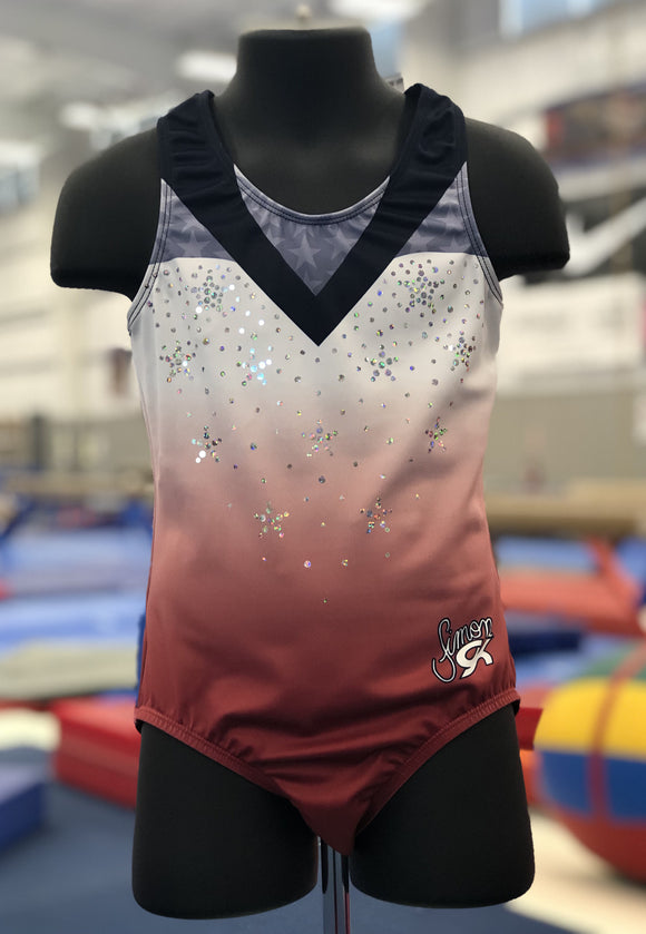 2019 Biles Invitational GK Leotard