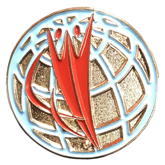World Champions Center Pin