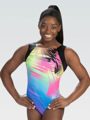 Simone Biles Tropical Noise Tank