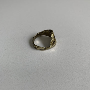 Crater Signet Ring