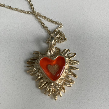Tortured Heart Pendant