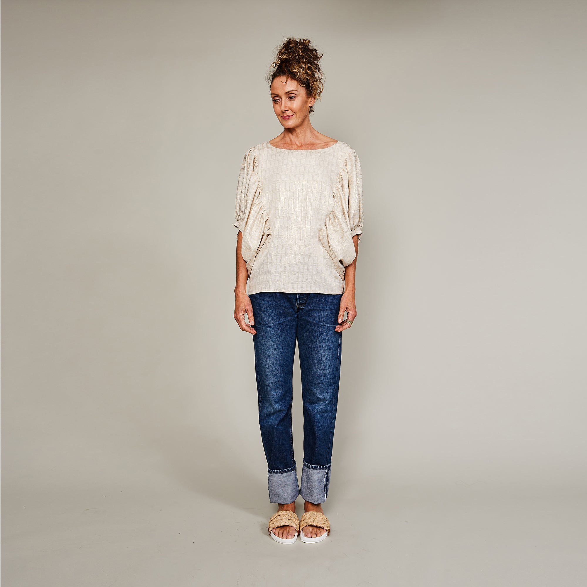 Up, Up and Away Silk Top