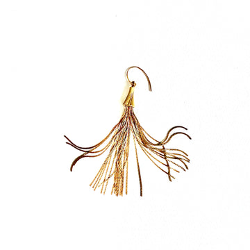 A R Large Tassel Earrings