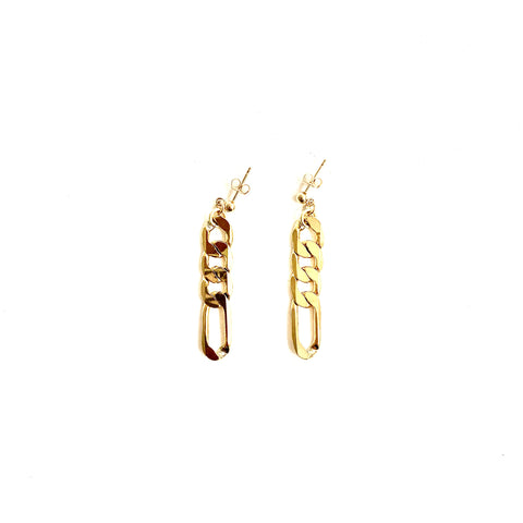 A R Horseshoe Earrings