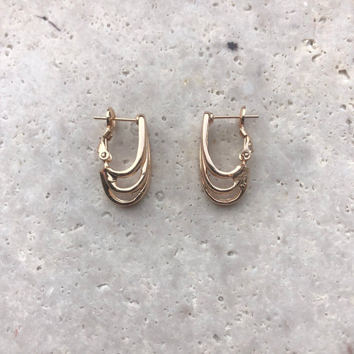 Anna Rossi 3 Layer Hoops