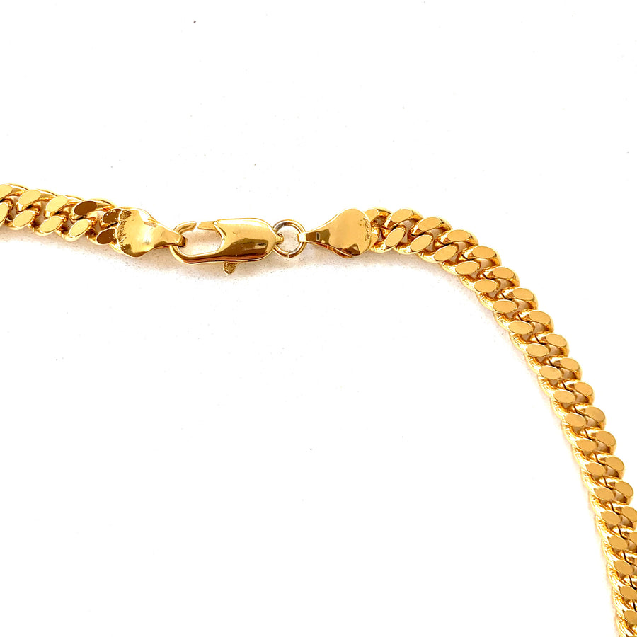 A R Chunky Gold Chain
