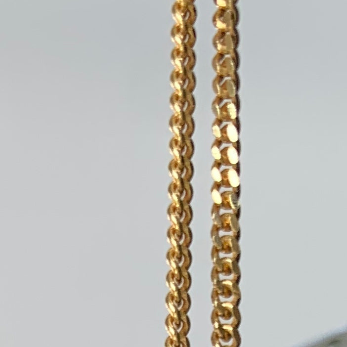 A R Gold Chain Long