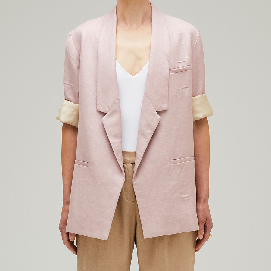 Relaxed Jacket Rose