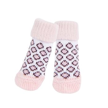 Leone Dog Socks By Puppia - Pink