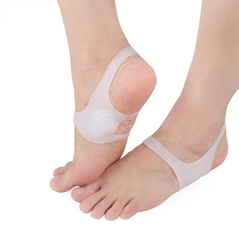 Foot Arch Support Soft Gel Sleeves for Flat Feet Foot Correctors