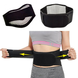 Self-heating Magnetic Therapy Back Waist Support Brace  - Vydya Health