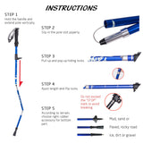 Ultra Compact Lightweight Walking Stick  - Vydya Health