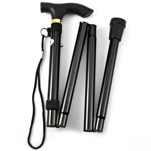 High Quality Foldable Aluminum Metal Walking Stick