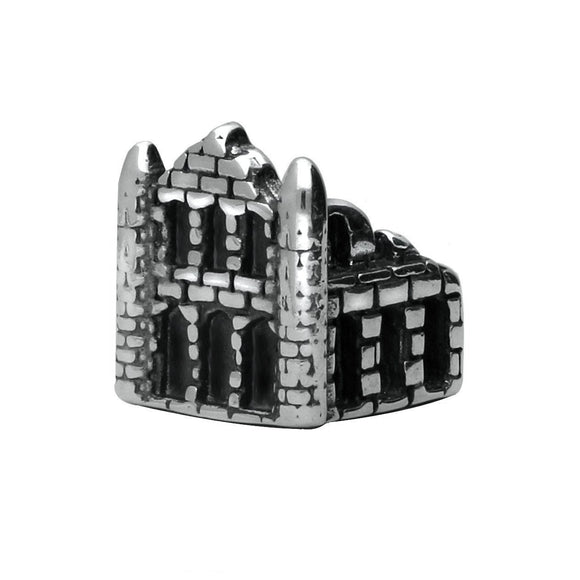 Sterling Silver Whitby Abbey Charm. G553
