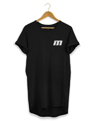 Left Breast - Longline T-Shirt - Maddison