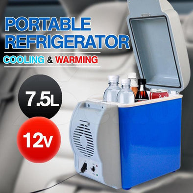 7.5L 12V Multipurpose Portable Vehicle Fridge/Cooler