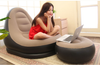 Indoor Outdoor Deluxe Inflatable Sofa Lounge with Ottoman