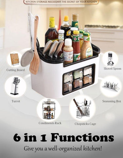 Knife/Fork Spice Rack Kitchen Organizer