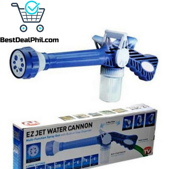 Empire EZ Jet Water Cannon 8-Nozzle Multi-Function Spray Gun