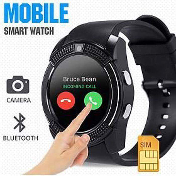V8 Circular Touch Screen Smart Watch