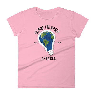 """Inspire The World"" Women's T-shirt"