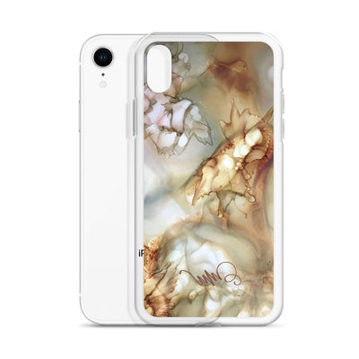 """Golden Mist"" iPhone Case"