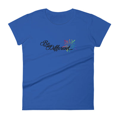 """Be Different""  Women's T-shirt"