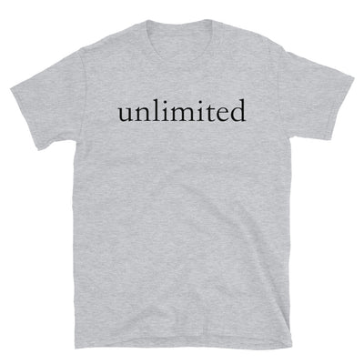 """Unlimited"" T-Shirt"