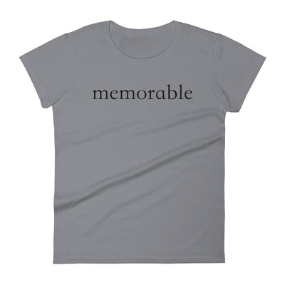 """Memorable"" Women's T-shirt"