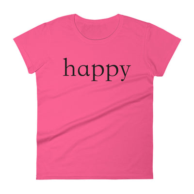 """Happy"" Women's T-shirt"