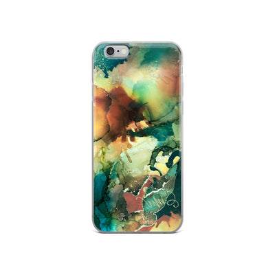 """Wise And Tenacious"" iPhone Case"