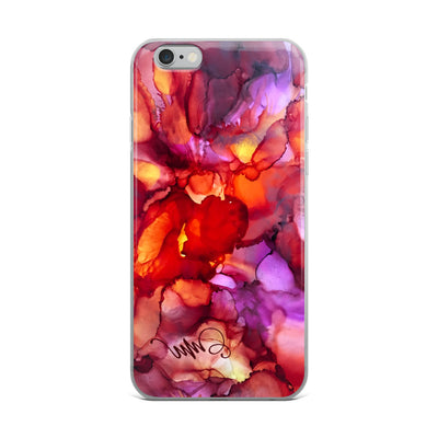 """Beautiful Blaze"" iPhone Case"