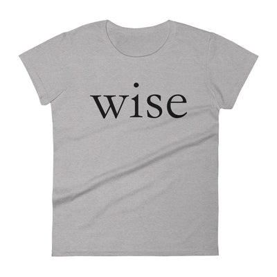 """Wise"" Women's T-shirt"