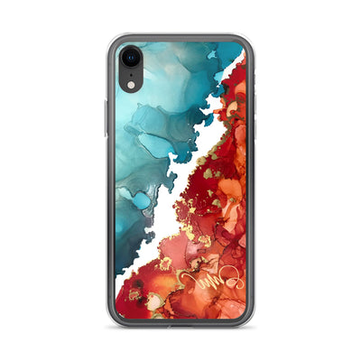 """Fire And Water"" iPhone Case"