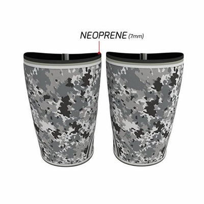 Camo Weightlifting Knee Sleeves