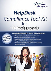 2016 HelpDesk Compliance Tool-Kit for Human Resource Professionals includes EEOC, FMLA, ADA, USERRA, ERISA, FLSA, HIPAA, Policy and Procedure Manuals, Records Retention Guide, Sample Job Descriptions and Templates on CD