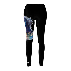 Malkia Women's Cut & Sew Casual Leggings